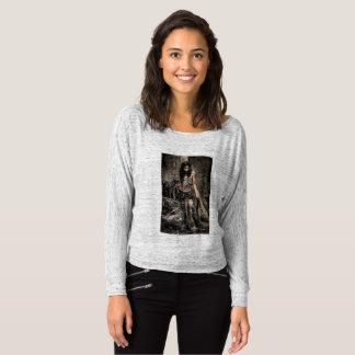 Camiseta menina do guerreiro