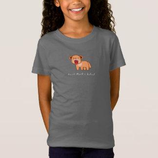 Camiseta Menina do leão