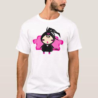 Camiseta menina do ninja