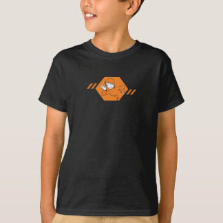Camiseta Menina do perigo dos miúdos