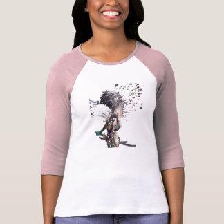 Camiseta Menina do samurai