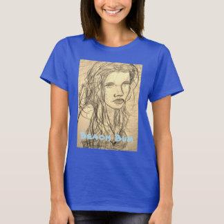 Camiseta Menina do vagabundo da praia