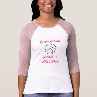 Camiseta Menina do voleibol