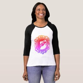 Camiseta Menina do zen da escalada