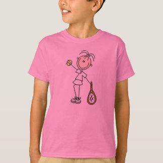Camiseta Menina dois do tênis