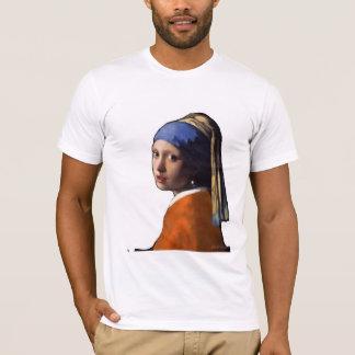 Camiseta Menina em um jérsei holandês