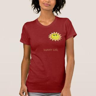 Camiseta MENINA ENSOLARADA - personalizada