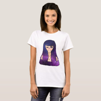 Camiseta Menina galáctica