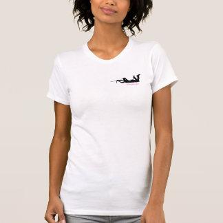 Camiseta Menina Glam da arma - atirador furtivo
