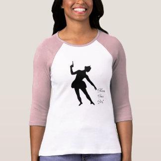 Camiseta Menina Glam da arma - balé