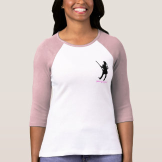 Camiseta Menina Glam da arma - ocidental