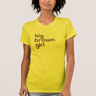 Camiseta Menina grande de Brown