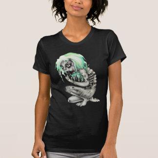 Camiseta Menina inoperante viva