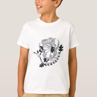 Camiseta Menina lindo