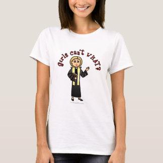 Camiseta Menina loura do pregador