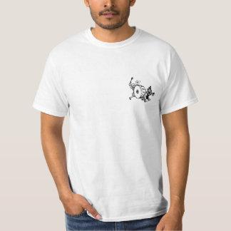 Camiseta menina, menino, e cães