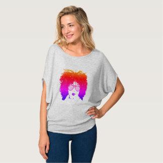 Camiseta Menina multicolorido nos aviadores