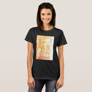 Camiseta Menina na praia