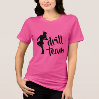Camiseta Menina personalizada da equipe de broca