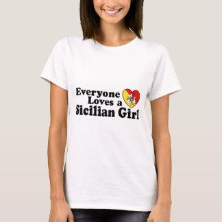 Camiseta Menina siciliano
