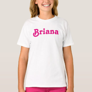 Camiseta Meninas Briana da roupa