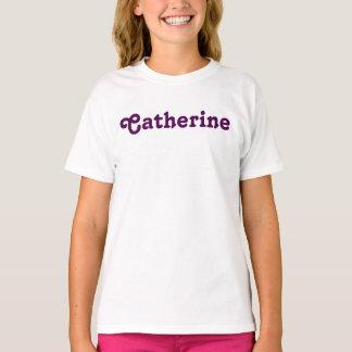 Camiseta Meninas Catherine da roupa