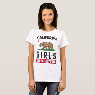 Camiseta meninas de Califórnia melhora