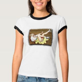 Camiseta Meninas de Derby do rolo!