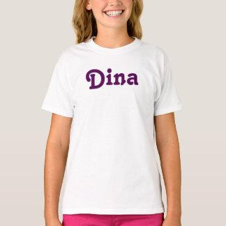 Camiseta Meninas Dina da roupa