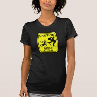 Camiseta Meninas do cuidado no jogo