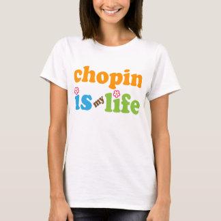 Camiseta Meninas do presente de Chopin