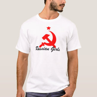 Camiseta meninas do russo