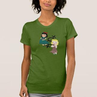 Camiseta Meninas do vintage