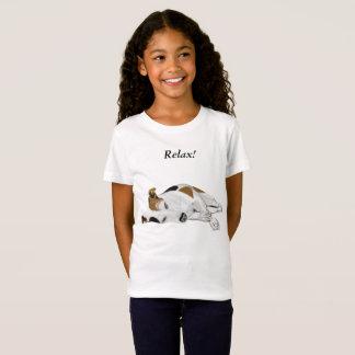 Camiseta Meninas Jack de sono bonito Russell