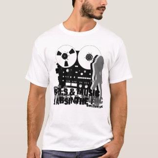 Camiseta Meninas & música & absinto