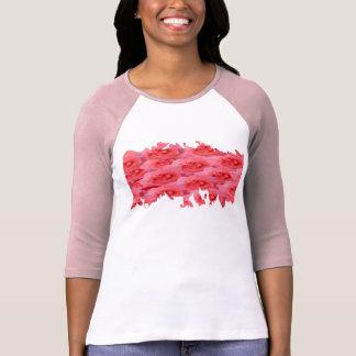 Camiseta Meninas Trendsetting novas - coloridas no coração