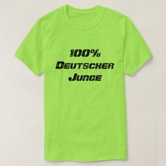 Camiseta Menino 100% do alemão de Deutscher Junge | 100%