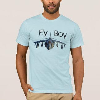 Camiseta Menino da mosca do Harrier