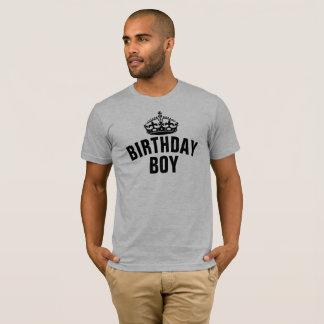 Camiseta Menino do aniversário
