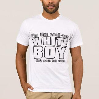Camiseta Menino do branco do Legal-Burro