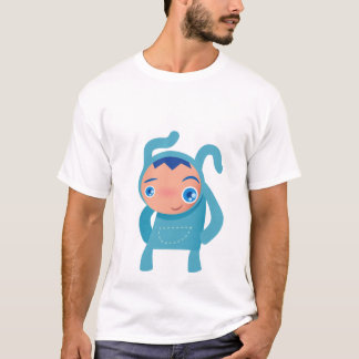 Camiseta menino do coelho