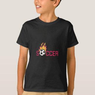 Camiseta Menino do futebol