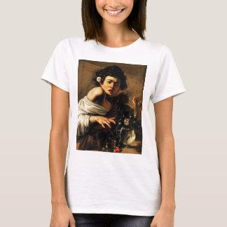 Camiseta Menino do lagarto de Caravaggio