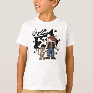 Camiseta Menino e macaco do pirata