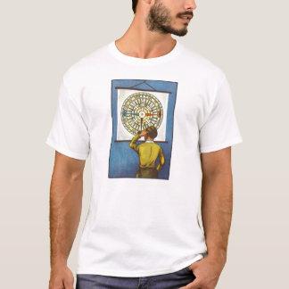 Camiseta Menino perdido do sentido do vintage do kitsch