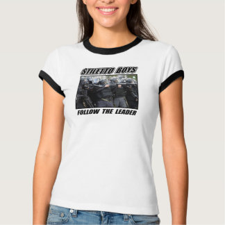 Camiseta Meninos do estilete - siga o líder - T-SHIRT