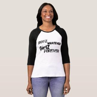 Camiseta Meninos e meninas