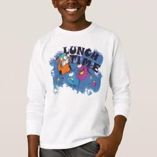 Camiseta Meninos sudadeira motivo: Piranha almoço Calcular