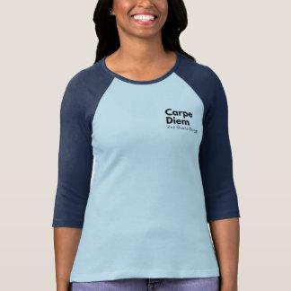 Camiseta Mensagem de inspiração do t-shirt na vergonha