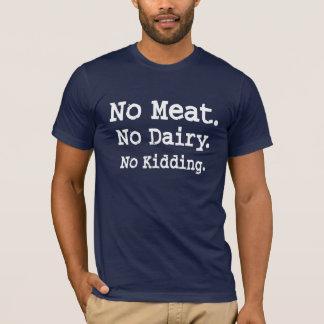 Camiseta Mensagem do Vegan com atitude